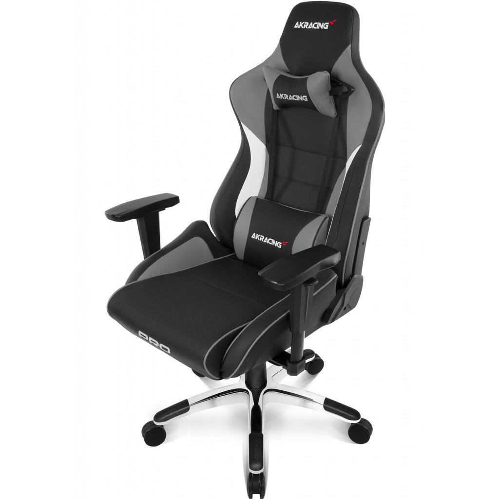 Afbeelding van AKRACING, gaming Chair Master Pro PU Leather Grijs stoel