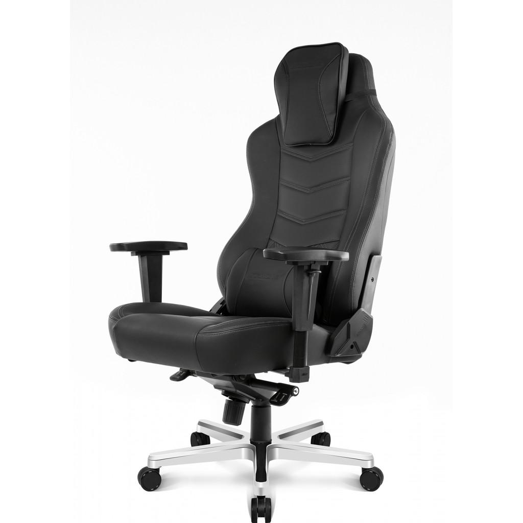 Afbeelding van AKRACING, gaming Chair Office PU Leather Onyx / Zwart stoel