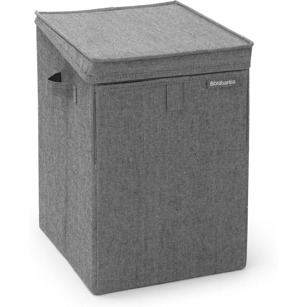 Brabantia Stapelbare wasbox 35 liter - Pepper Black Wasmanden