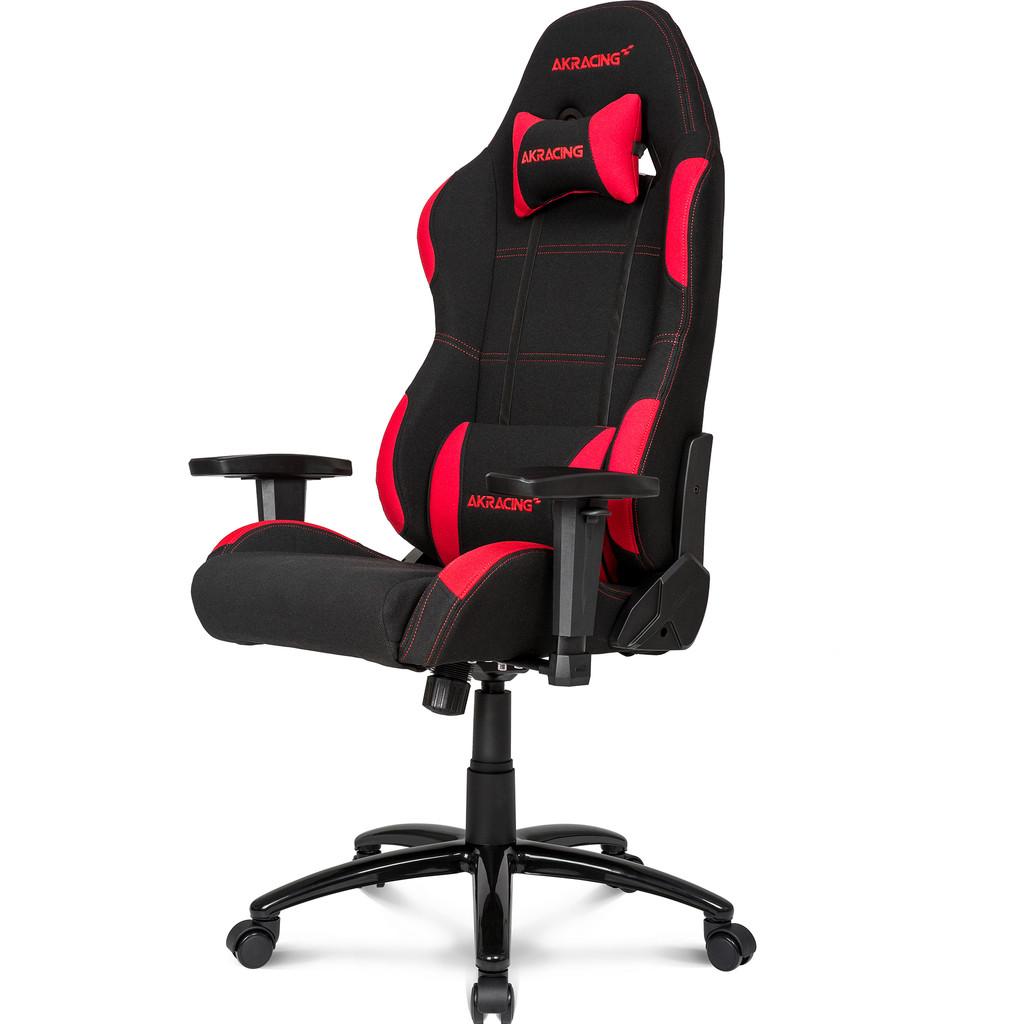Afbeelding van AKRACING gaming Chair Core EX Zwart / Rood stoel