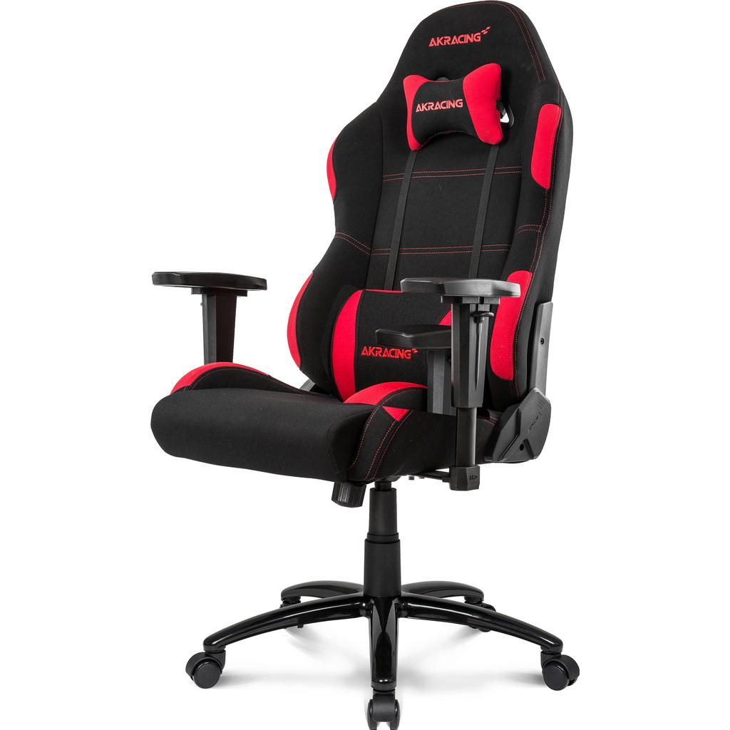 Afbeelding van AKRACING, gaming Chair Core EX Wide Zwart / Rood stoel