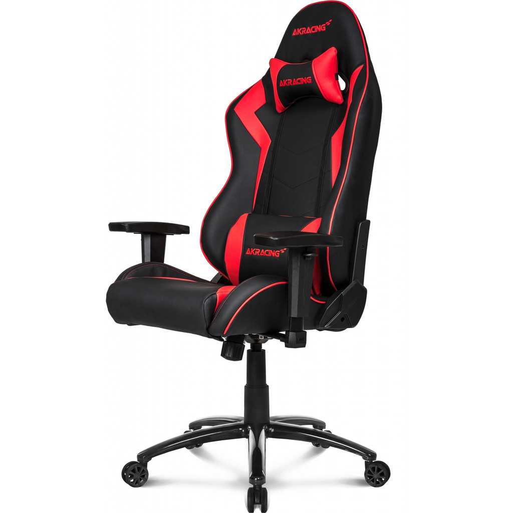 Afbeelding van AKRACING, gaming Chair Core SX PU Leather Rood stoel