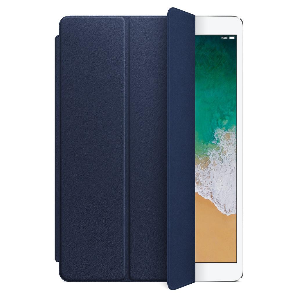 Apple iPad Pro 10,5 inch Leren Smartcover Middernachtblauw kopen
