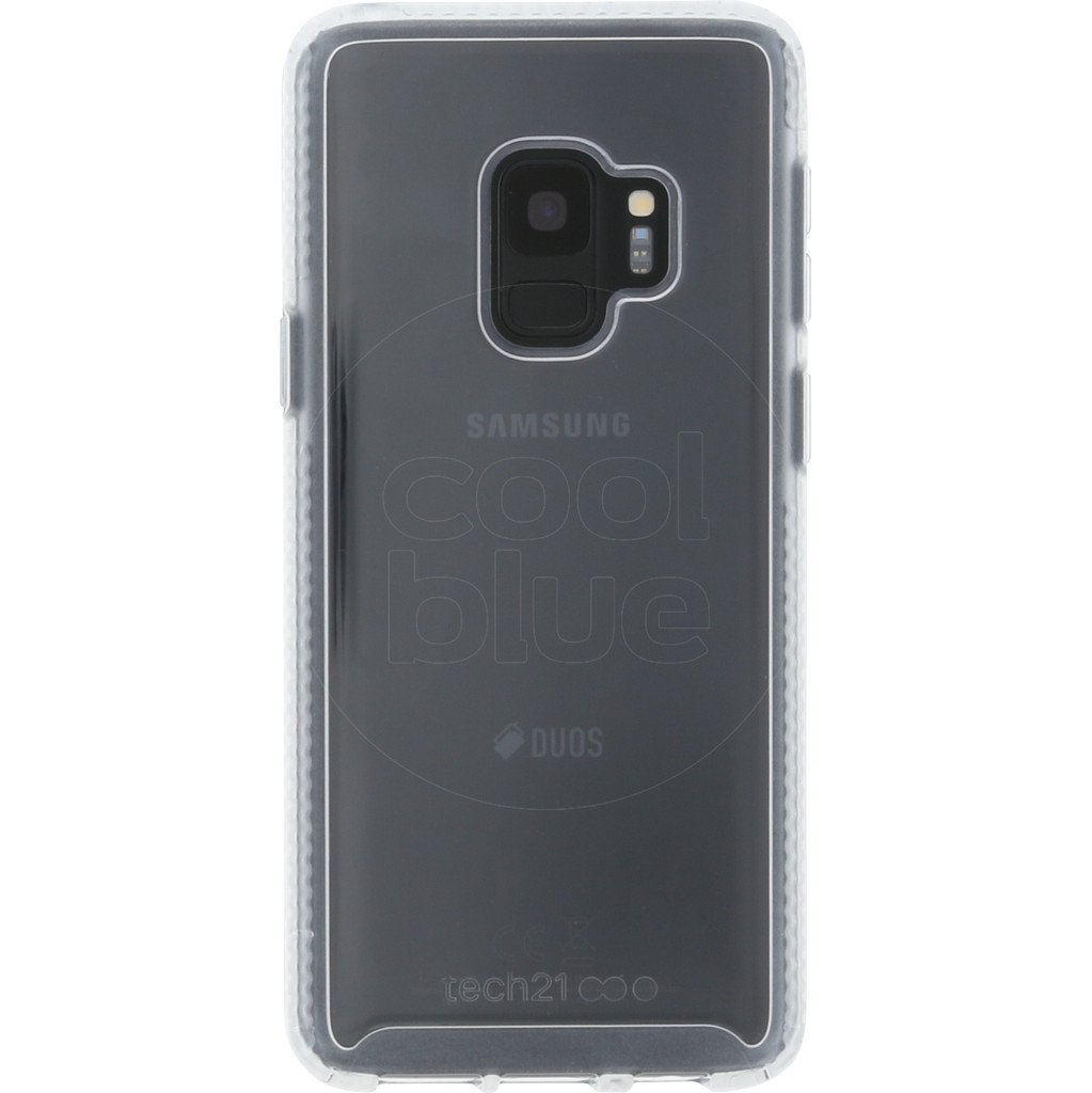 Tech21 Pure Samsung Galaxy S9 Back Cover Transparant