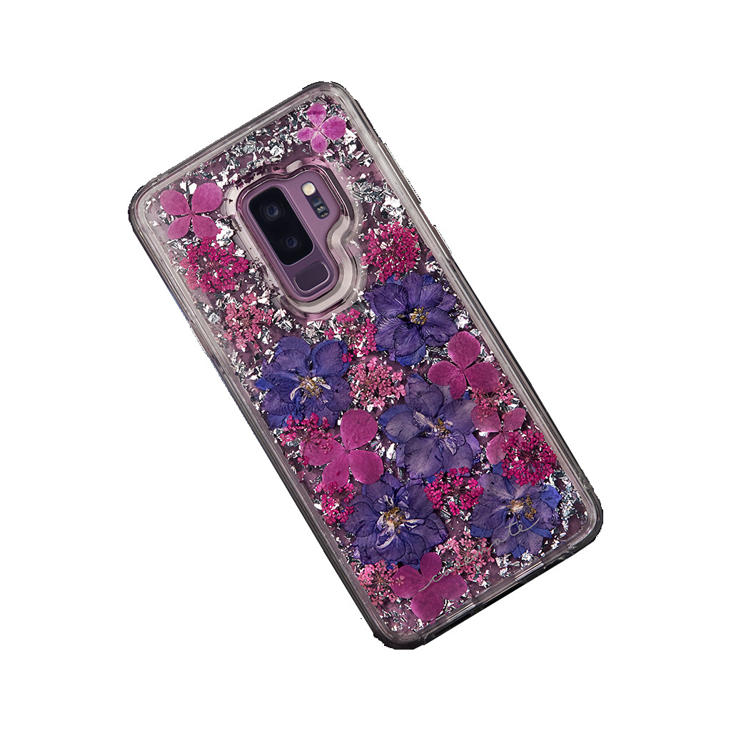 Afbeelding van Case Mate Karat Petal Samsung Galaxy S9 Back Cover Paars