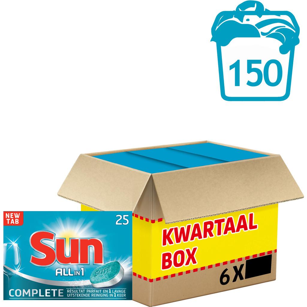 Sun Vaatwastabletten All-in-1 Normaal 150 stuks