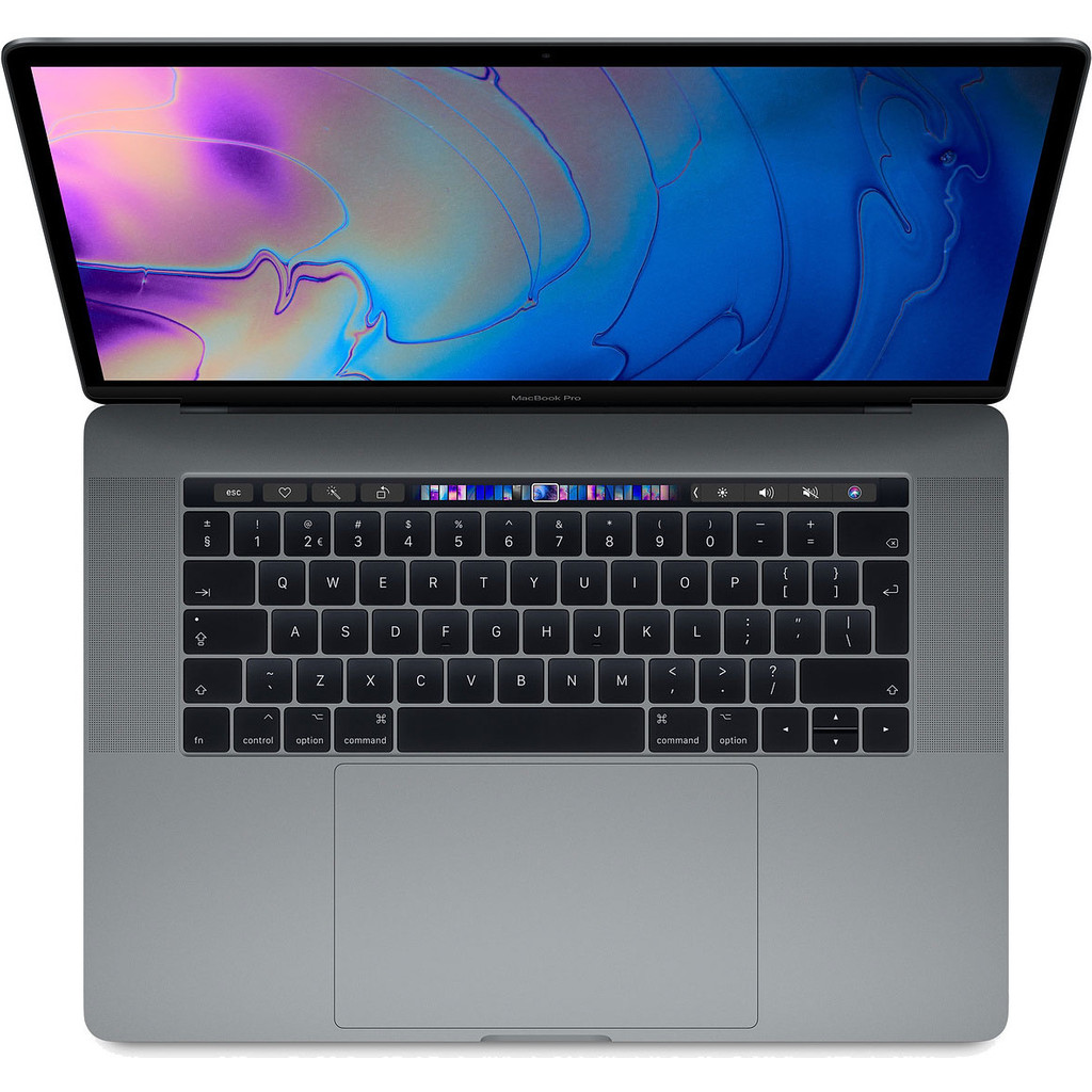 """Apple Macbook Pro 15"""" Touch Bar (2018) 16GB/4TB 2,9GHz Space Gray kopen"""