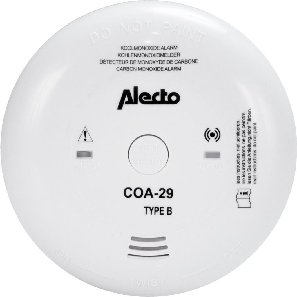 Afbeelding van Alecto COA 29/7 Koolmonoxide melder 7 jaar