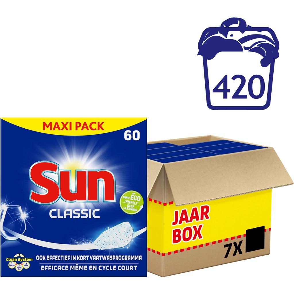 Sun Vaatwastabletten Classic 420 stuks