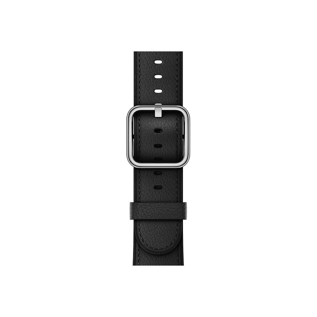 Apple Watch 38mm Klassiek Leren Polsband Zwart kopen