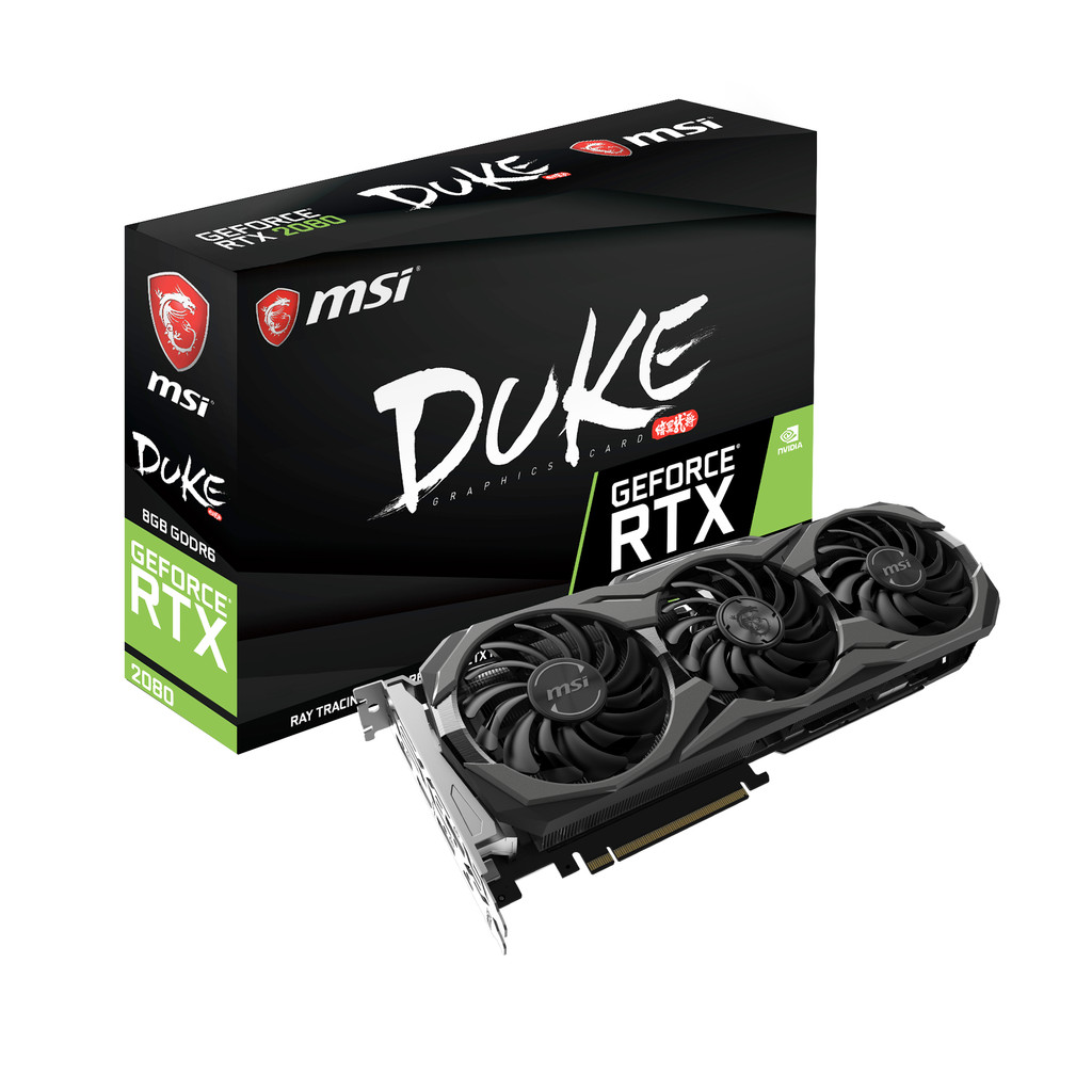 MSI GeForce RTX 2080 DUKE OC 8G