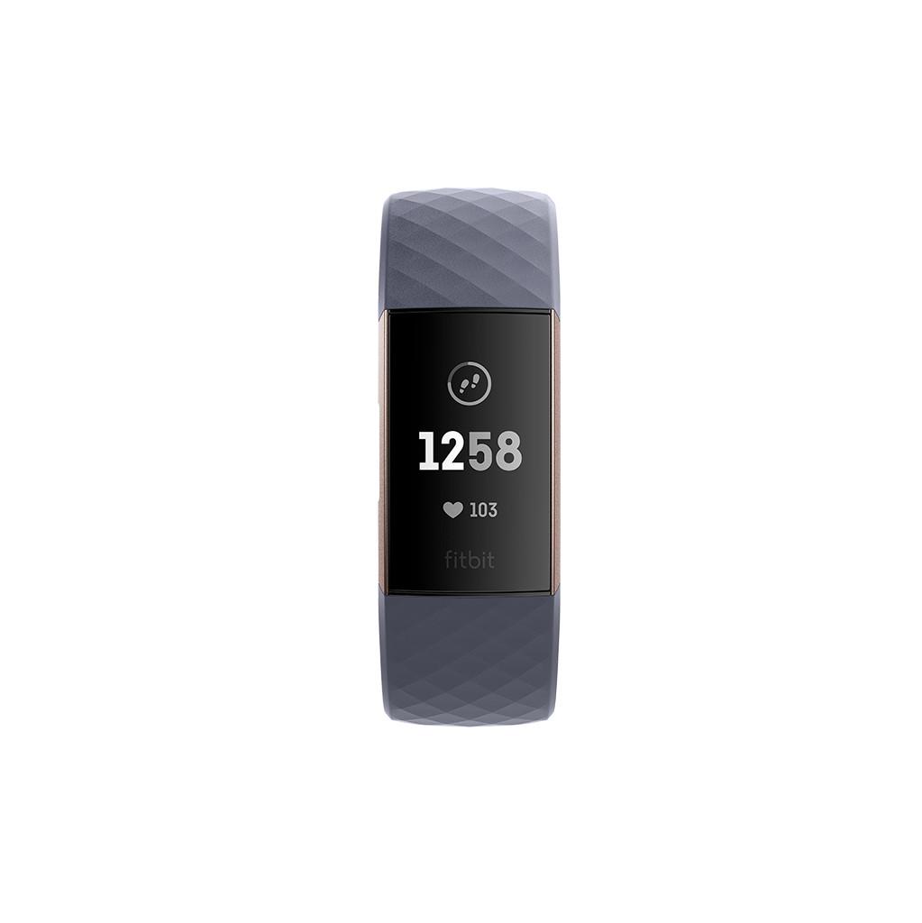 FitBit Charge 3 Activiteitentracker Blauw-grijs