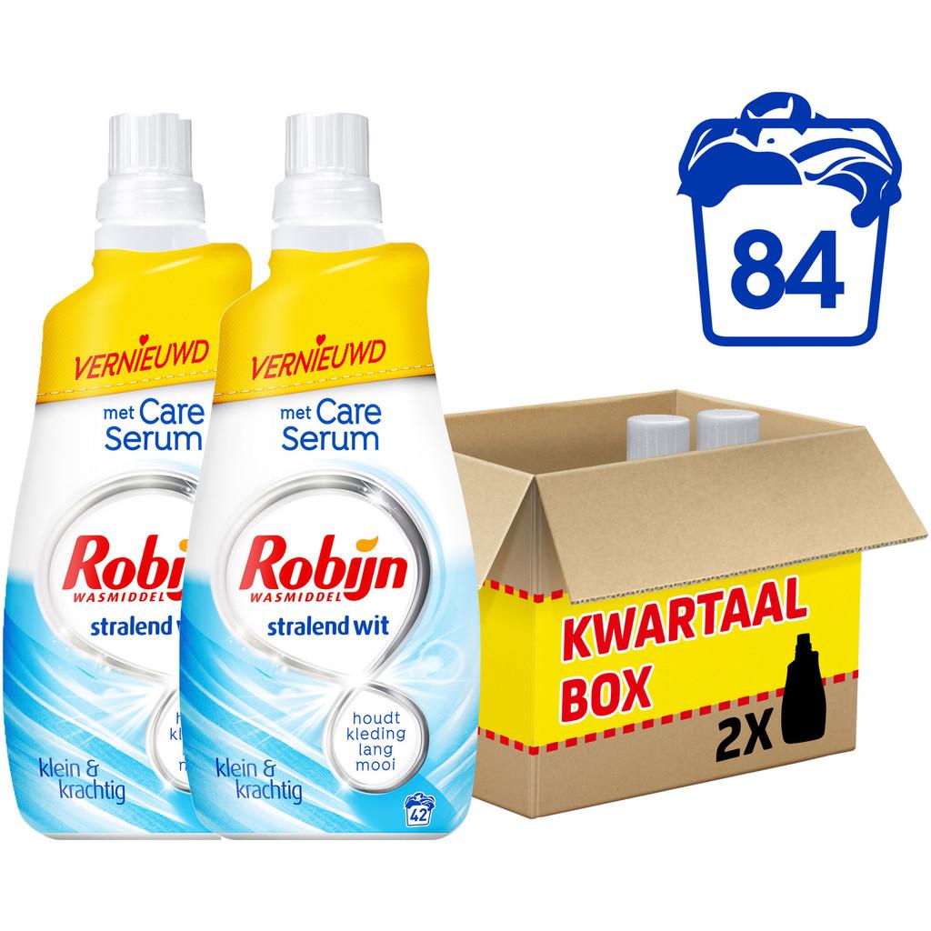 Robijn Klein & Krachtig Stralend Wit - 2 stuks Wasmiddel