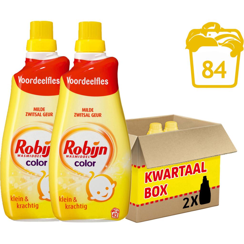 Robijn Klein & Krachtig Color Zwitsal - 2 stuks Wasmiddel