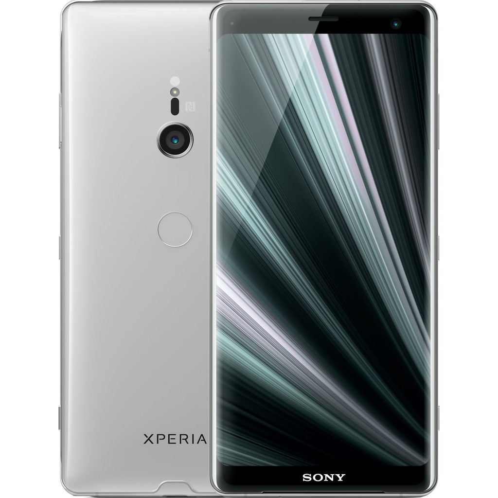 Sony Xperia XZ3 Zilver-64 GB opslagcapaciteit   6 inch Quad HD scherm   Android 9.0 Pie