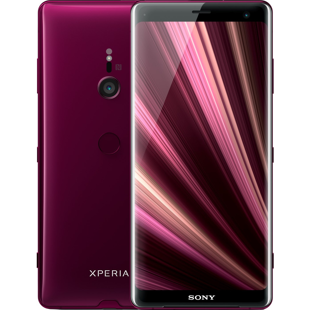 Sony Xperia XZ3 Rood-64 GB opslagcapaciteit   6 inch Quad HD scherm   Android 9.0 Pie