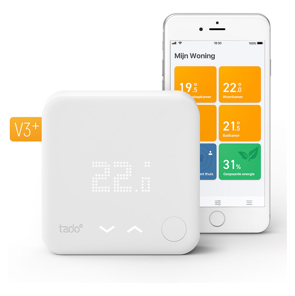 Tado Slimme Thermostaat V3+