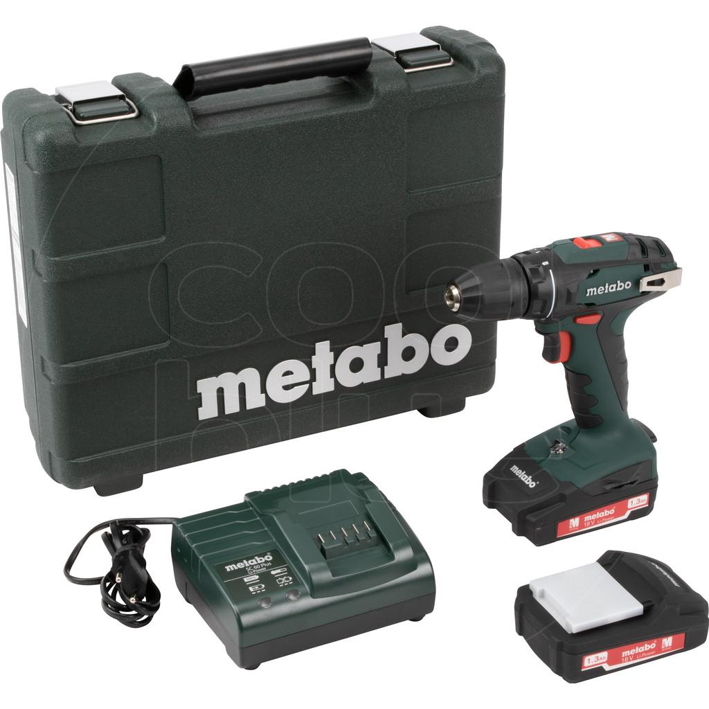 Metabo BS 18 Accu Bohrschroefmachine