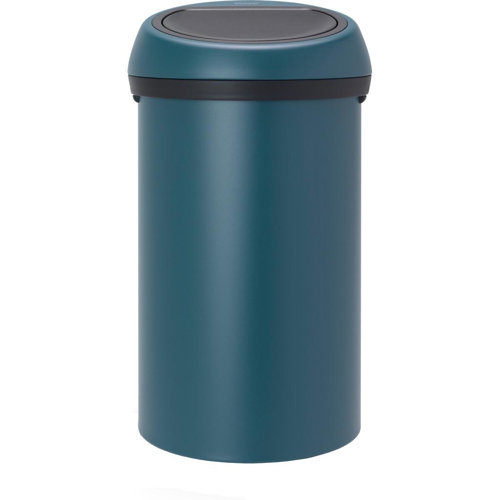 Brabantia Touch Bin 60 Liter Mineral Reflective Blue