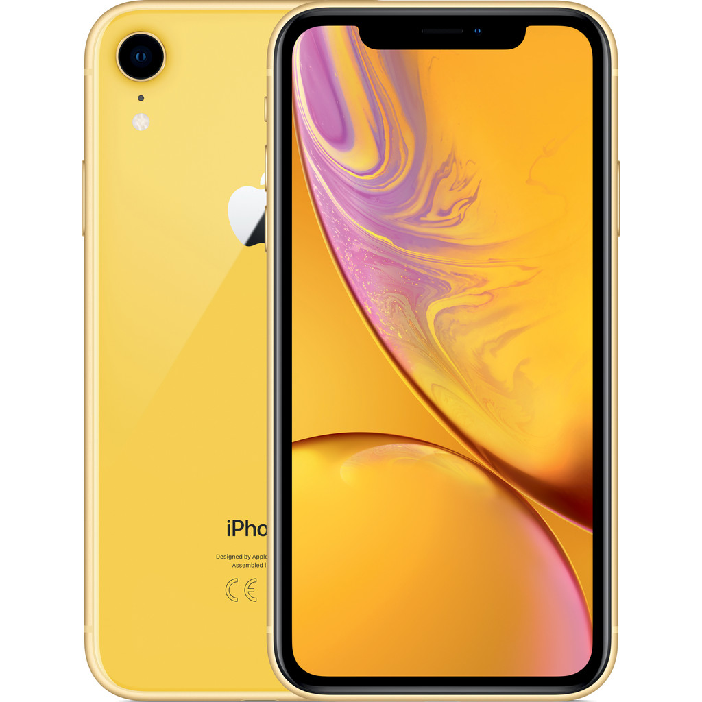 iPhone XR 128GB Geel (2018)