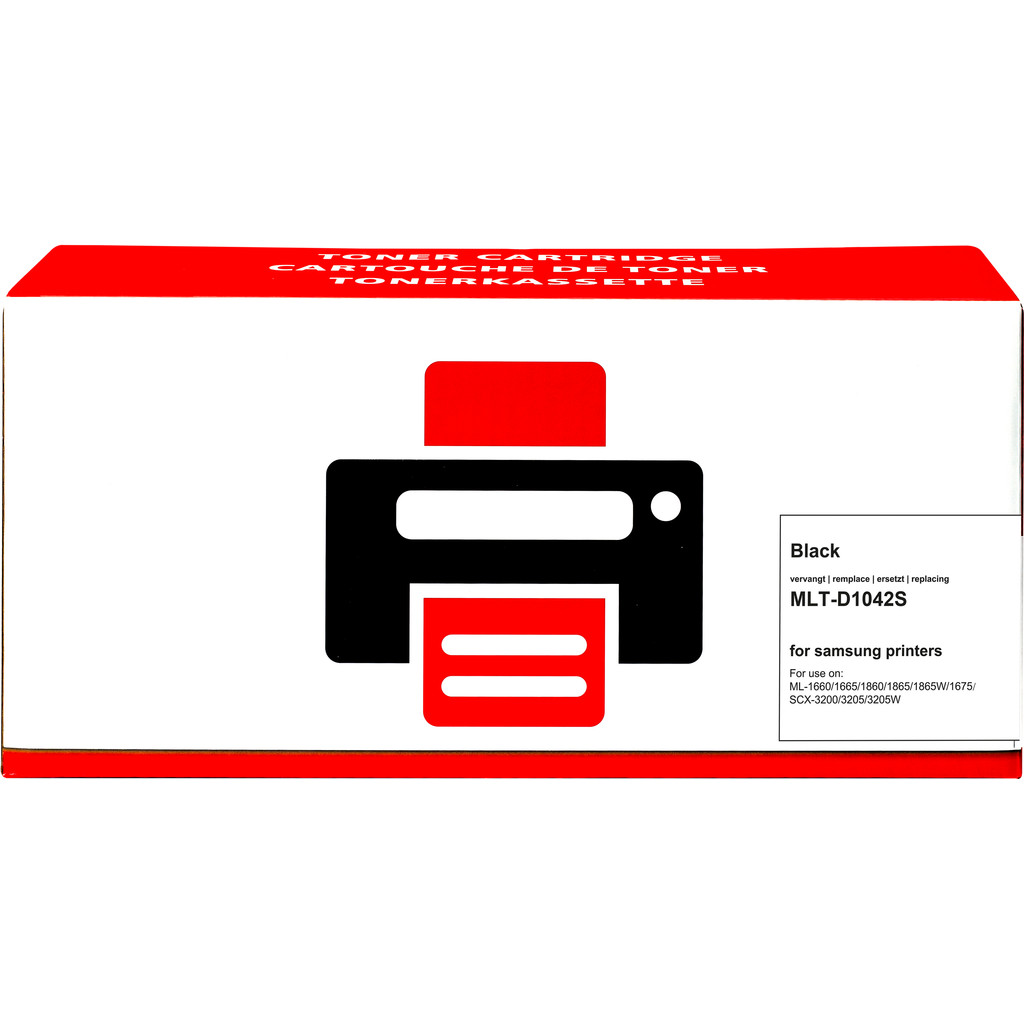 Huismerk MLT-D1042S Toner Zwart voor Samsung printers kopen