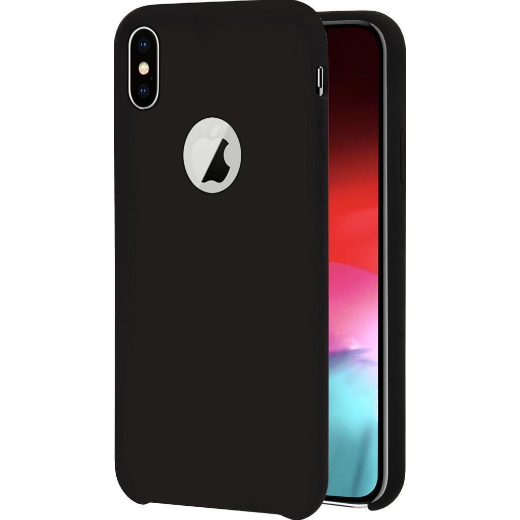 Azuri Rubber Apple iPhone Xs Max Back Cover Zwart