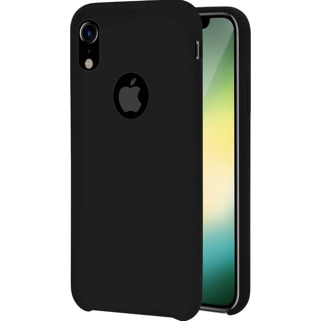 Azuri Rubber Apple iPhone Xr Back Cover Zwart