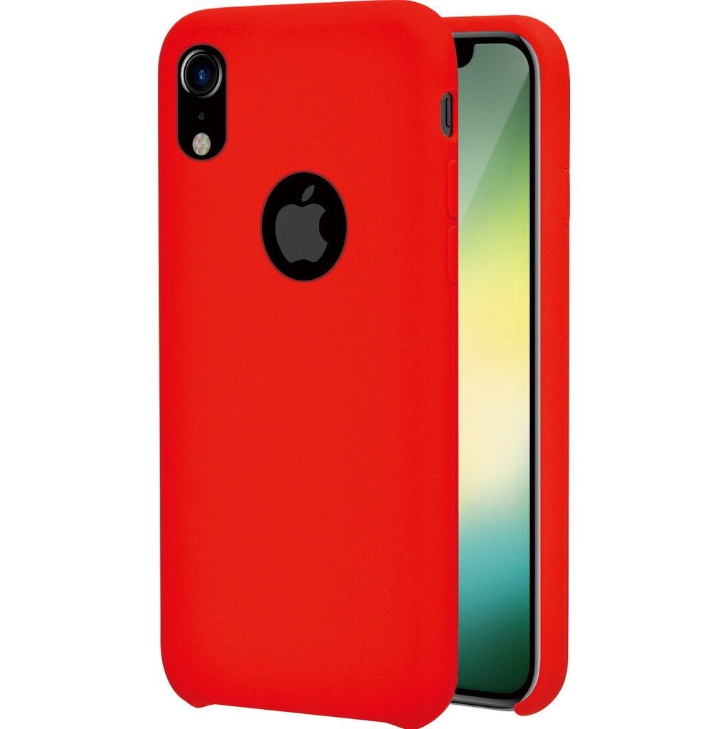 Azuri Rubber Apple iPhone Xr Back Cover Rood