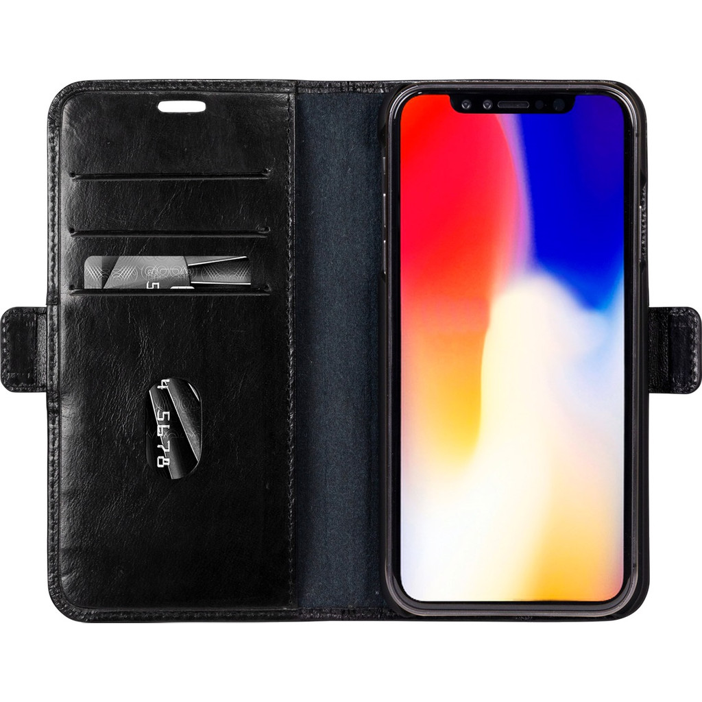 Afbeelding van DBramante1928 Copenhagen Apple iPhone Xs Max Book Case Zwart