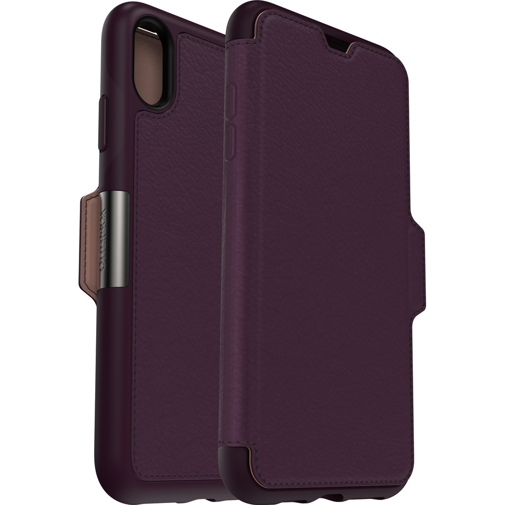 Otterbox Strada Apple iPhone Xs Max Book Case Paars