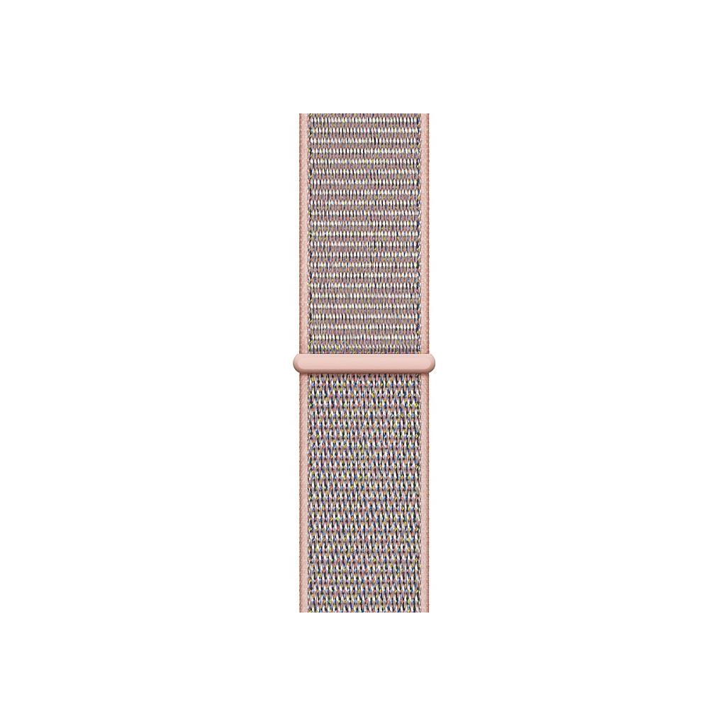 Apple Watch 44mm Nylon Sport Loop Horlogeband Rozenkwarts kopen