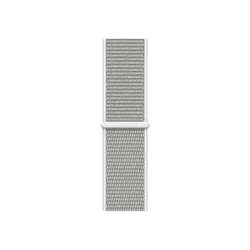 Apple Watch 44mm Nylon Sport Loop Horlogeband Schelpenwit kopen