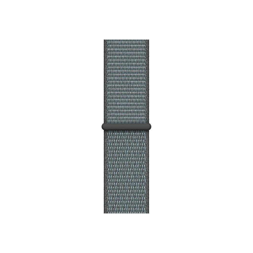 Apple Watch 44mm Nylon Sport Loop Horlogeband Stormgrijs kopen