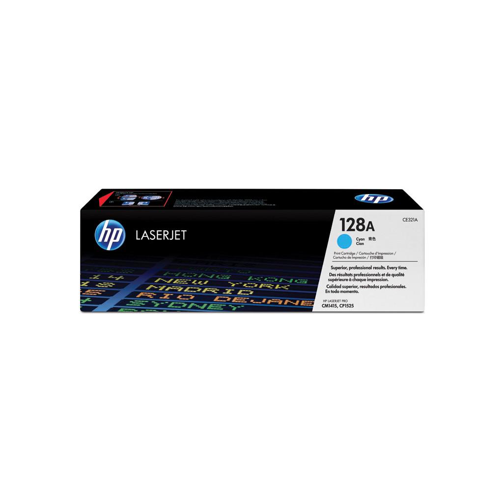 HP 128A Cyan LaserJet Toner (blauw) (CE321A) kopen