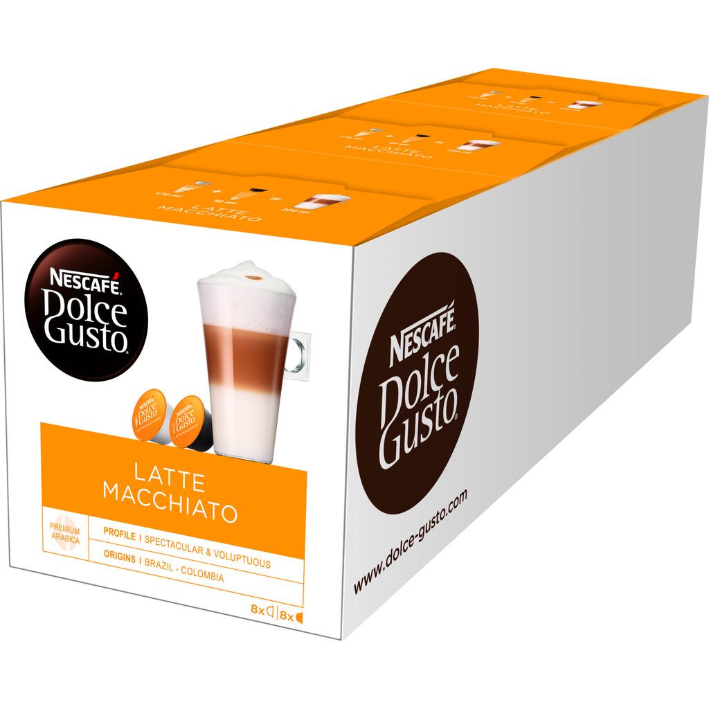 Dolce Gusto Latte Macchiato 3 pack kopen