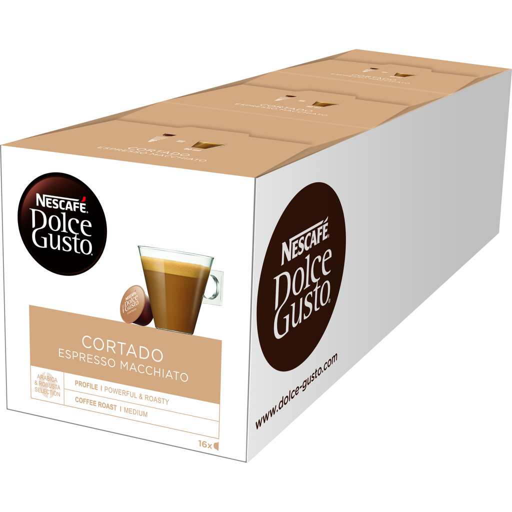 Dolce Gusto Cortado Espresso Macchiato 3 pack kopen