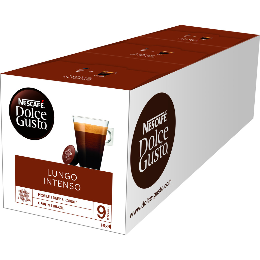 Dolce Gusto Lungo Intenso 3 pack kopen