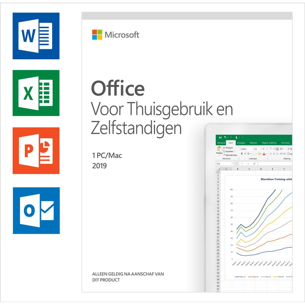 Afbeelding van Microsoft Office 2019 Thuisgebruik en Zelfstandigen NL