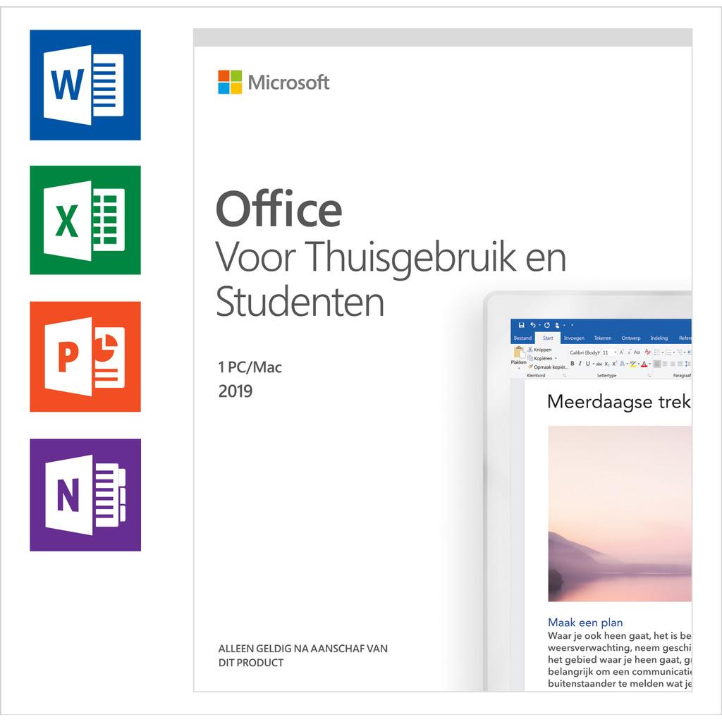 Afbeelding van Microsoft office 2019 Thuisgebruik EN Studenten software
