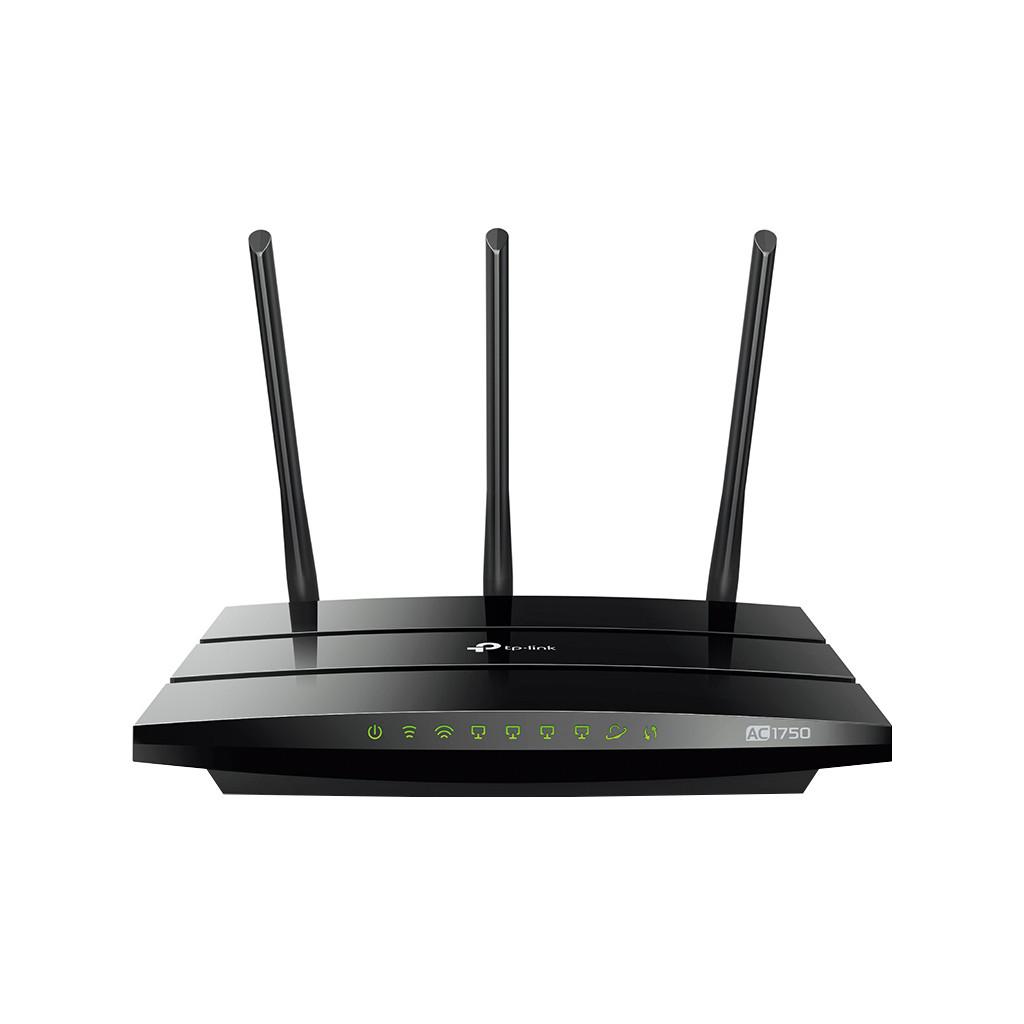 TP-LINK Archer A7 Dual-band (2.4 GHz-5 GHz) Gigabit Ethernet Zwart draadloze router