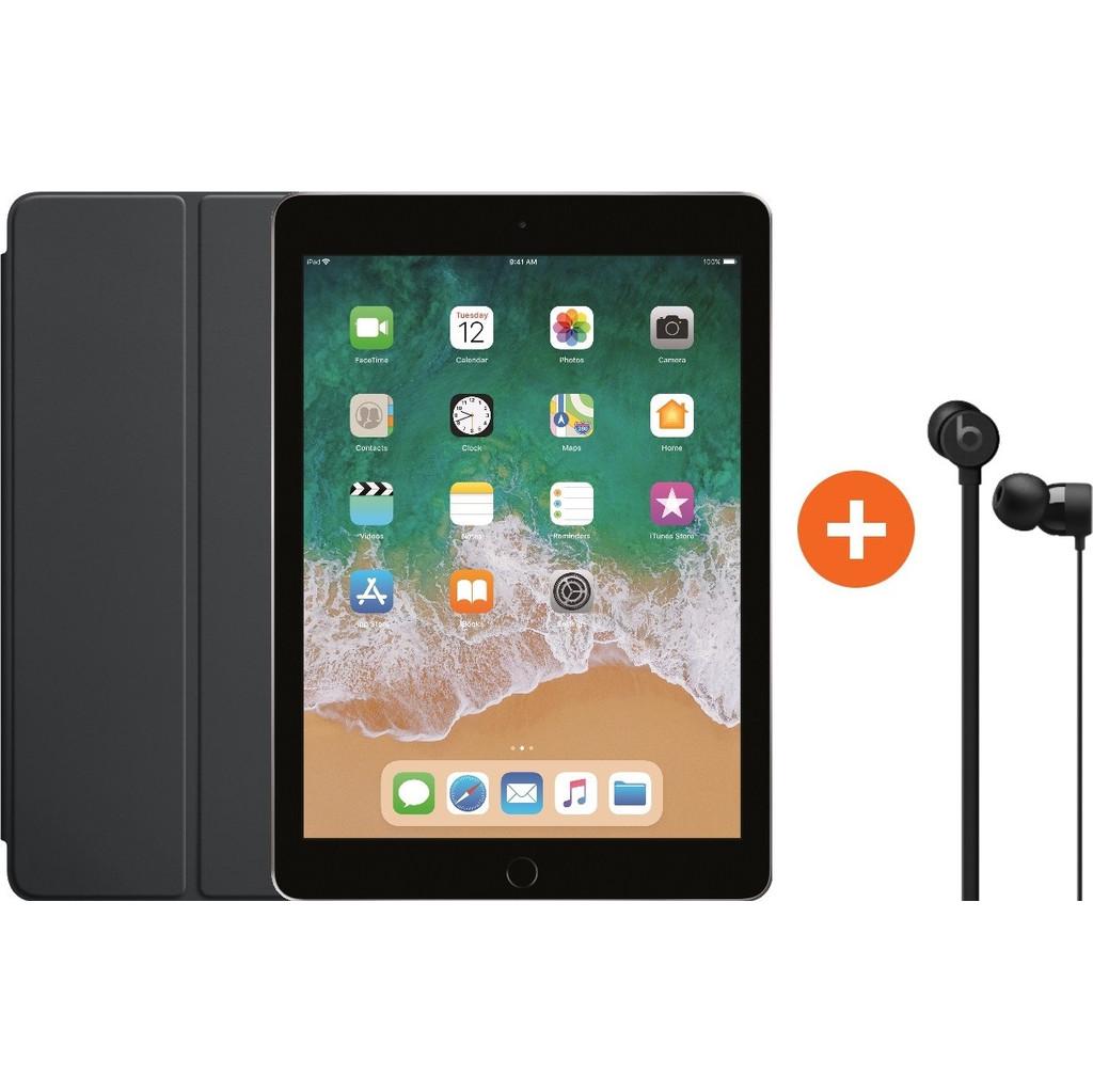 Apple iPad (2018) 32GB Wifi Space Gray + Smart Cover