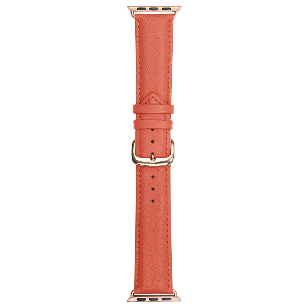 DBramante1928 Madrid Apple Watch 38mm Leren Horlogeband Roze kopen