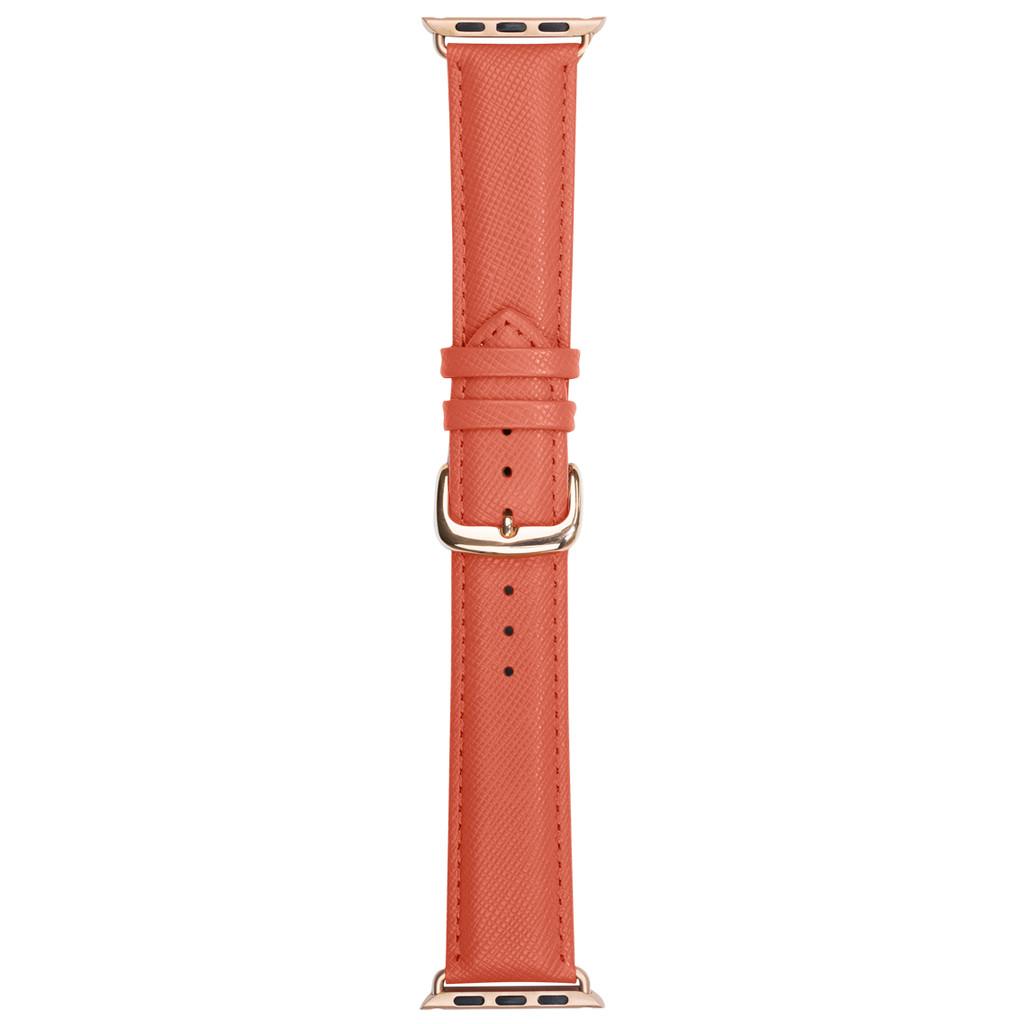 DBramante1928 Madrid Apple Watch 42mm Leren Horlogeband Roze kopen