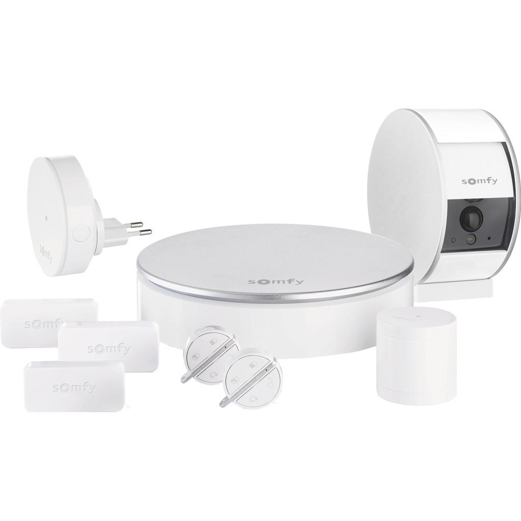 Somfy Home Alarm + Indoor Camera Compleet Pakket Wit