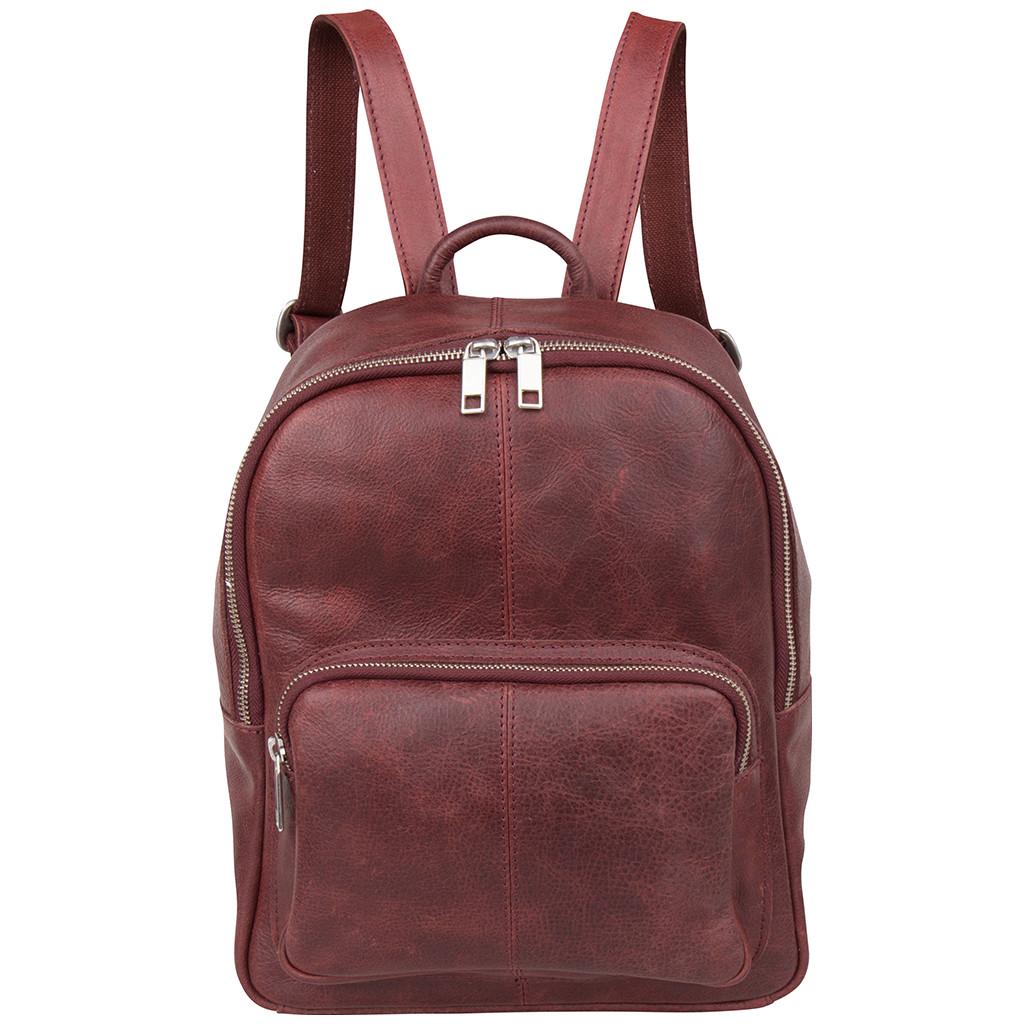 Afbeelding van Cowboysbag Backpack Estell Burgundy 2107 Laptop Backpacks
