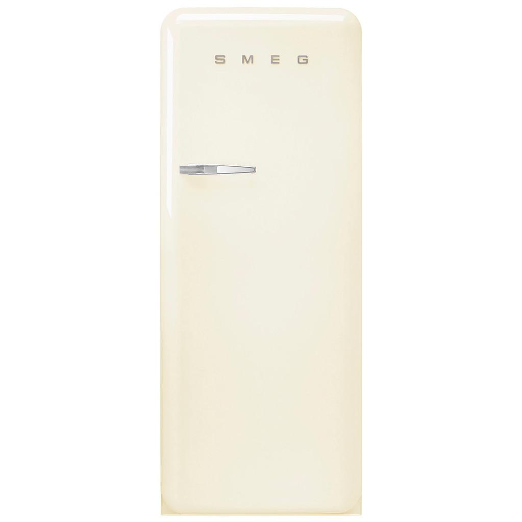 Smeg FAB28RCR3 koelkast met diepvriesvak in de kleur crème met...