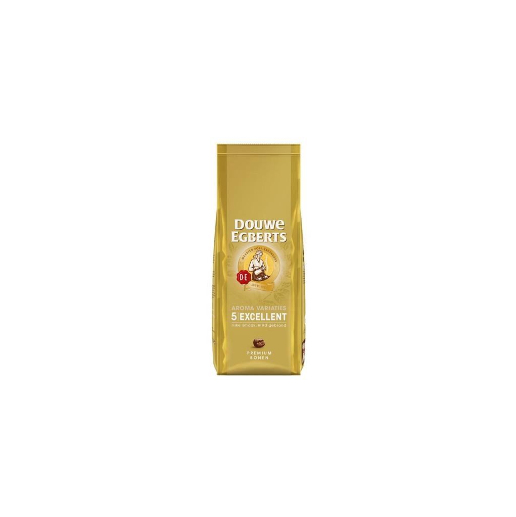 Afbeelding van Douwe Egberts Aroma Excellent koffiebonen 500 gram koffie