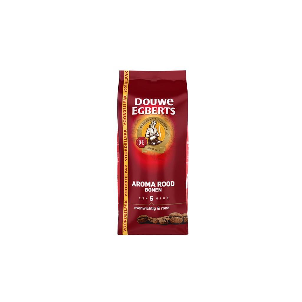 Afbeelding van Douwe Egberts Aroma Rood koffiebonen 900 gram koffie