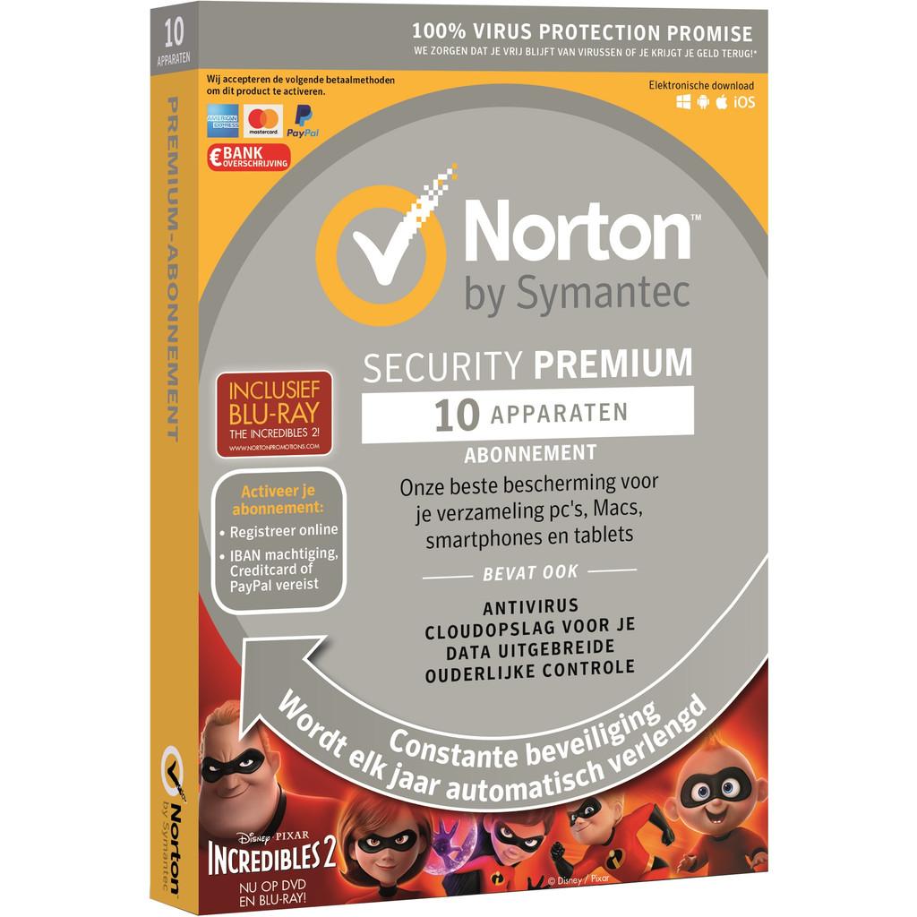 Norton Security Premium 2018 | 10 Apparaten | Incredibles 2 kopen