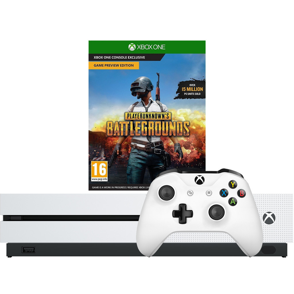 Microsoft Xbox One S 1 TB Playerunknown's Battlegrounds Bundel kopen